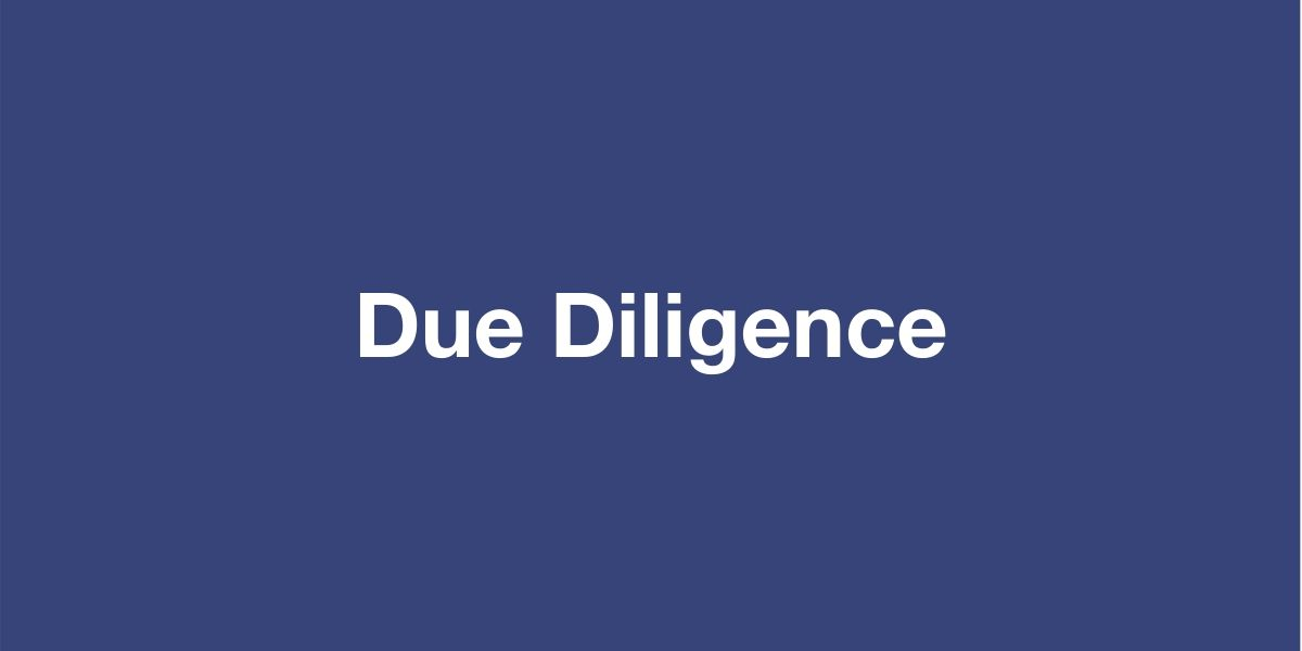 Due Diligence OHS